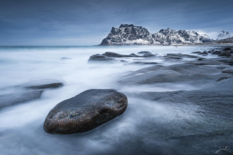 La pierre posée – Iles Lofoten