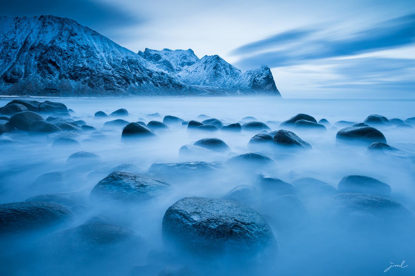 Lueurs bleues – Iles Loften