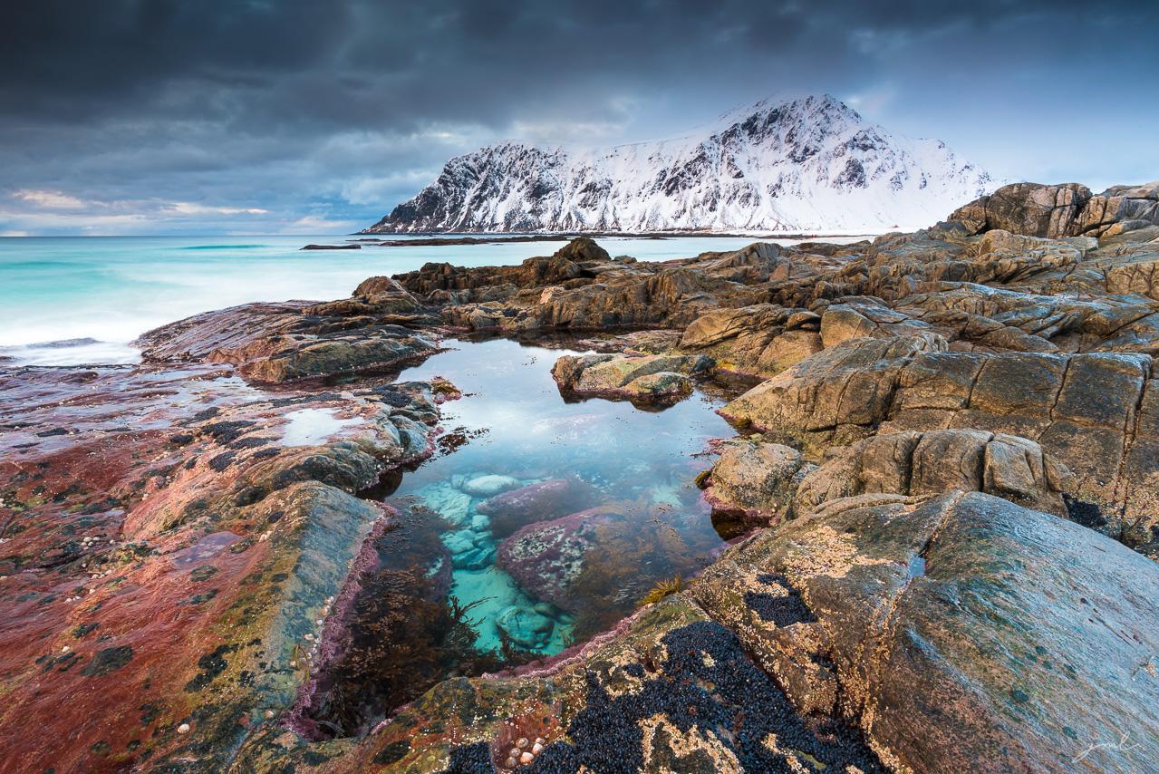 Paysage des iles Lofoten