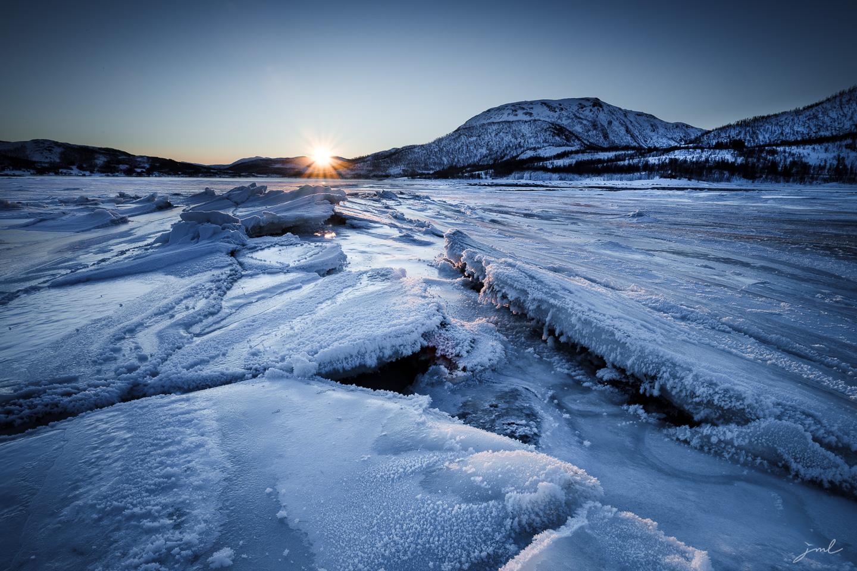 Fractures de glace – Ile de Senja