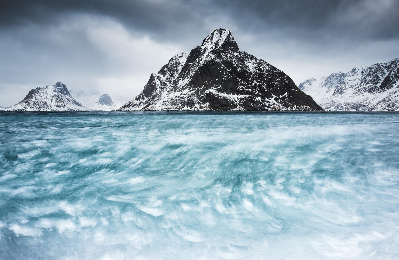 Mer de glace – Iles Lofoten